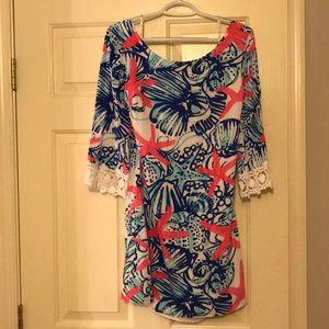Lilly Pulitzer She Sells Seashells Dress
